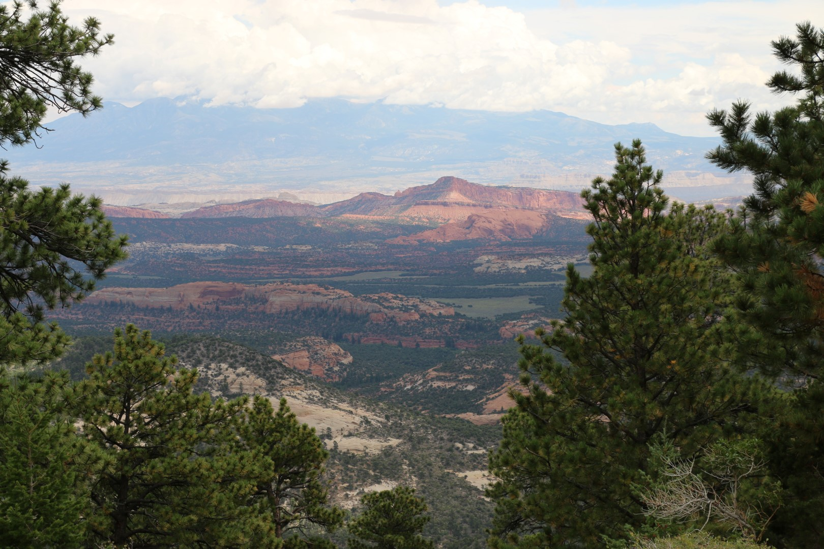 View towards Capitol Reef