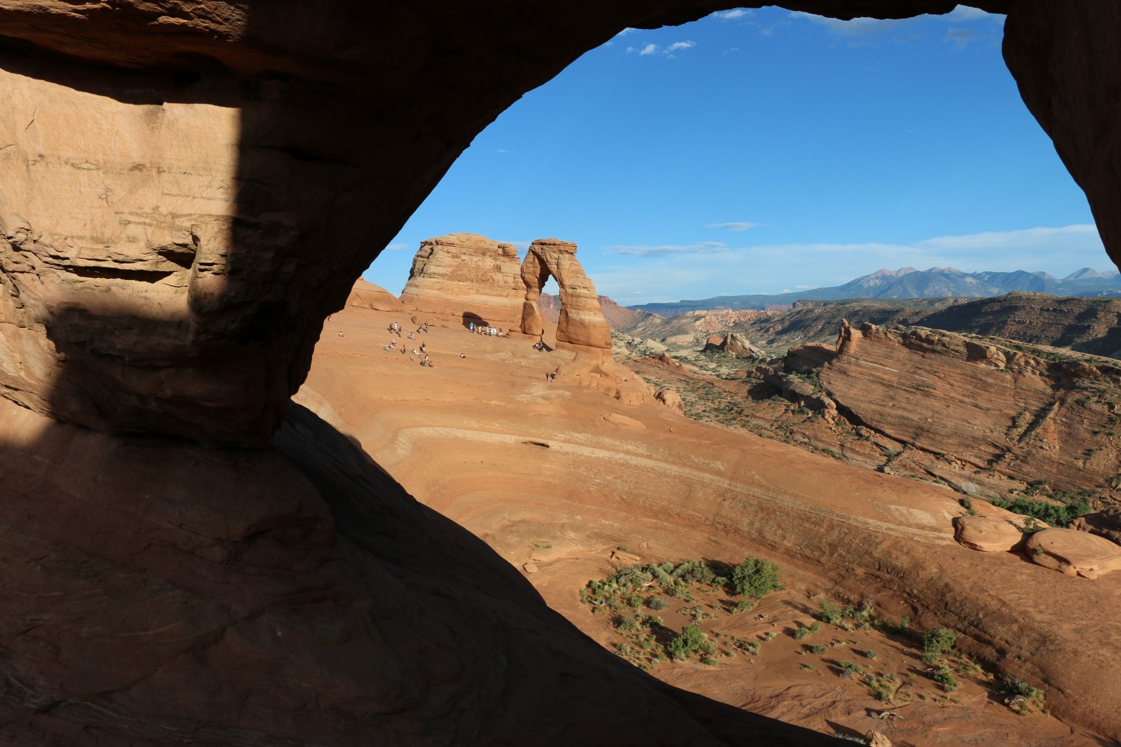 One last glimpse of Delicate Arch