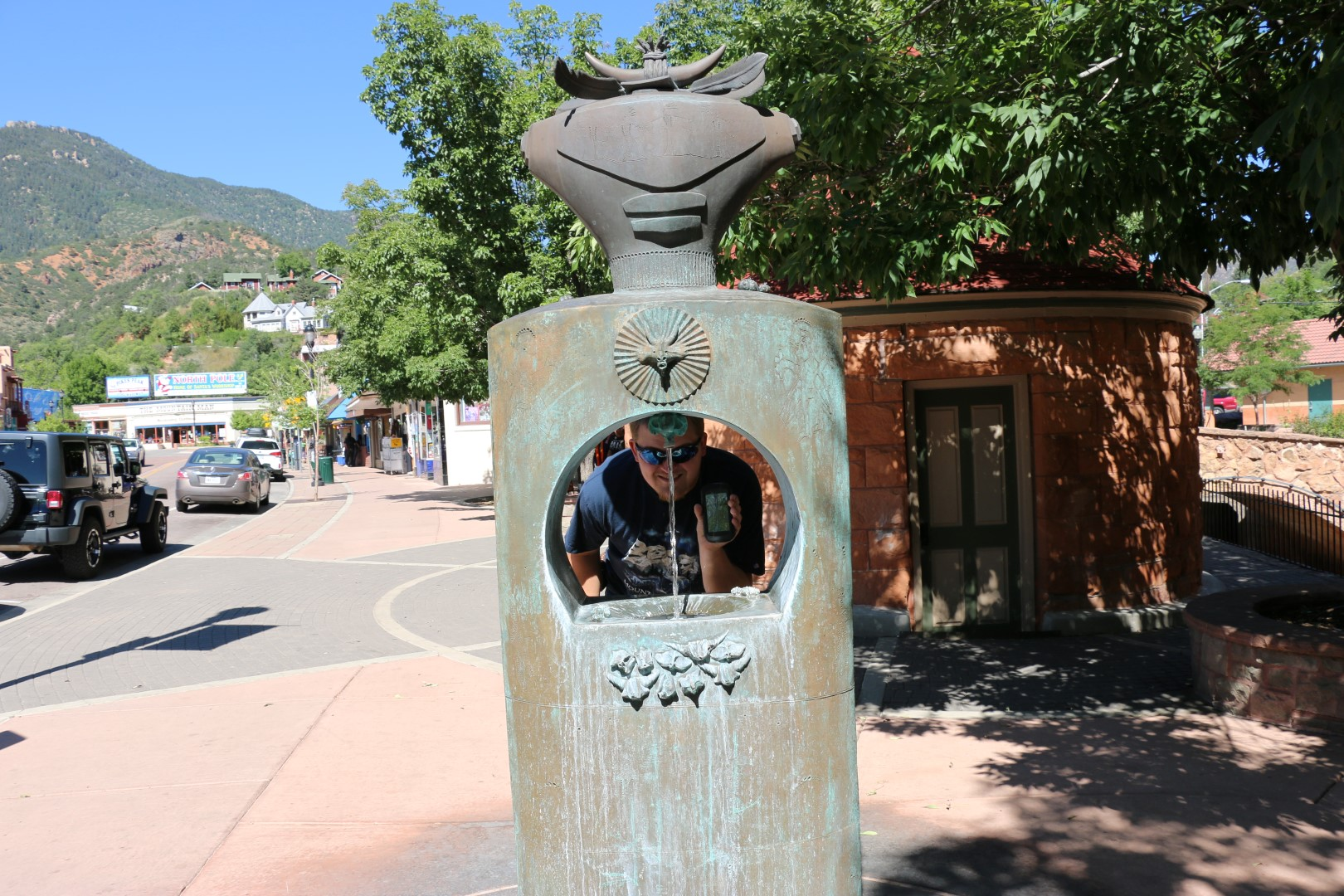 One of the earthcaches in Manitou Springs