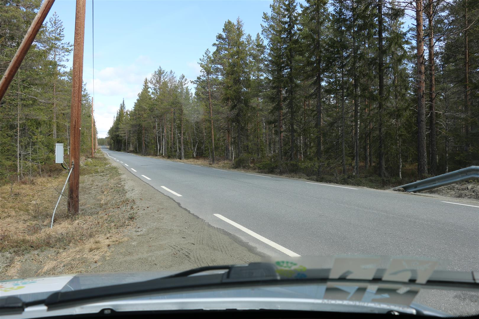 Langs veien
