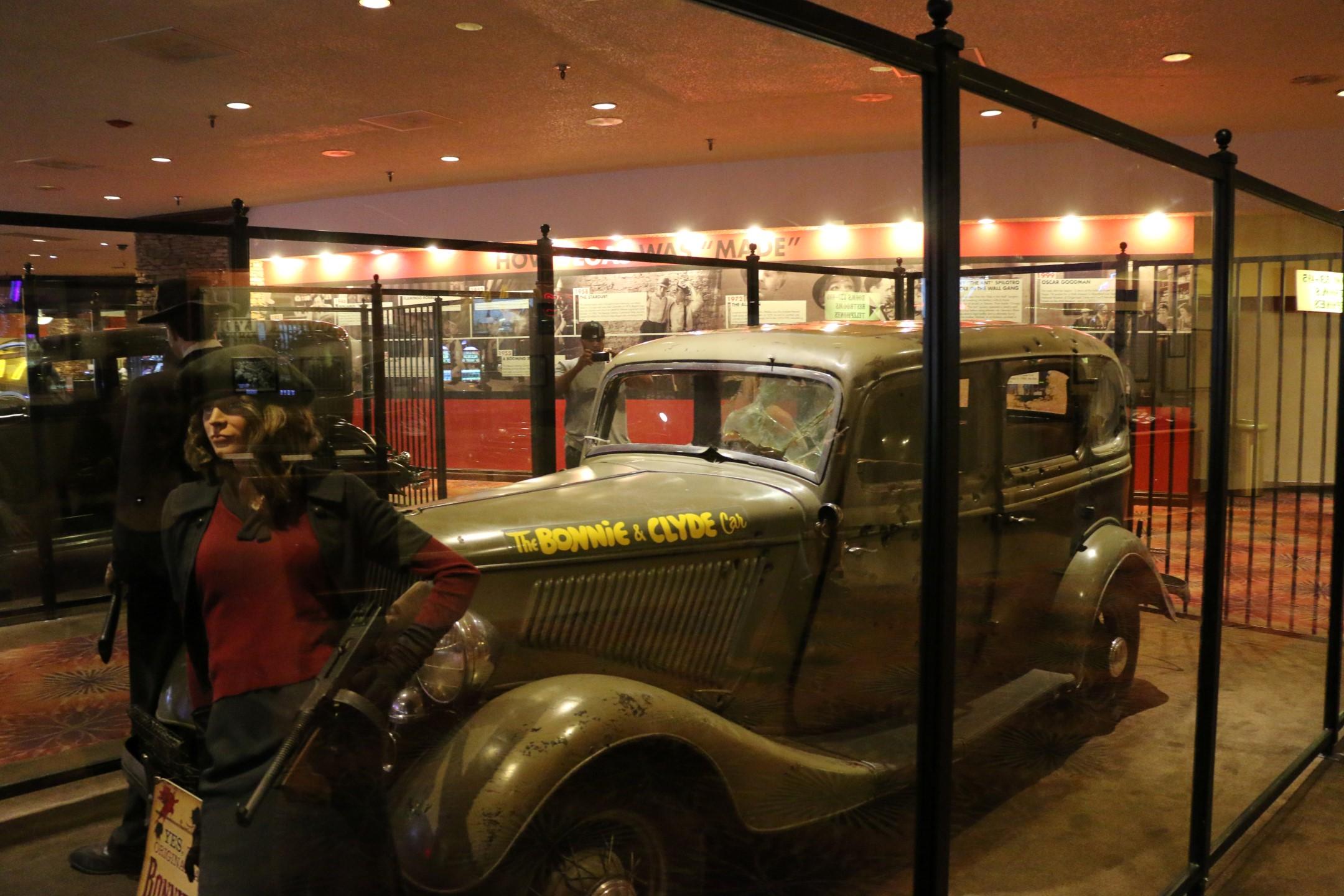 The Bonnie & Clyde car