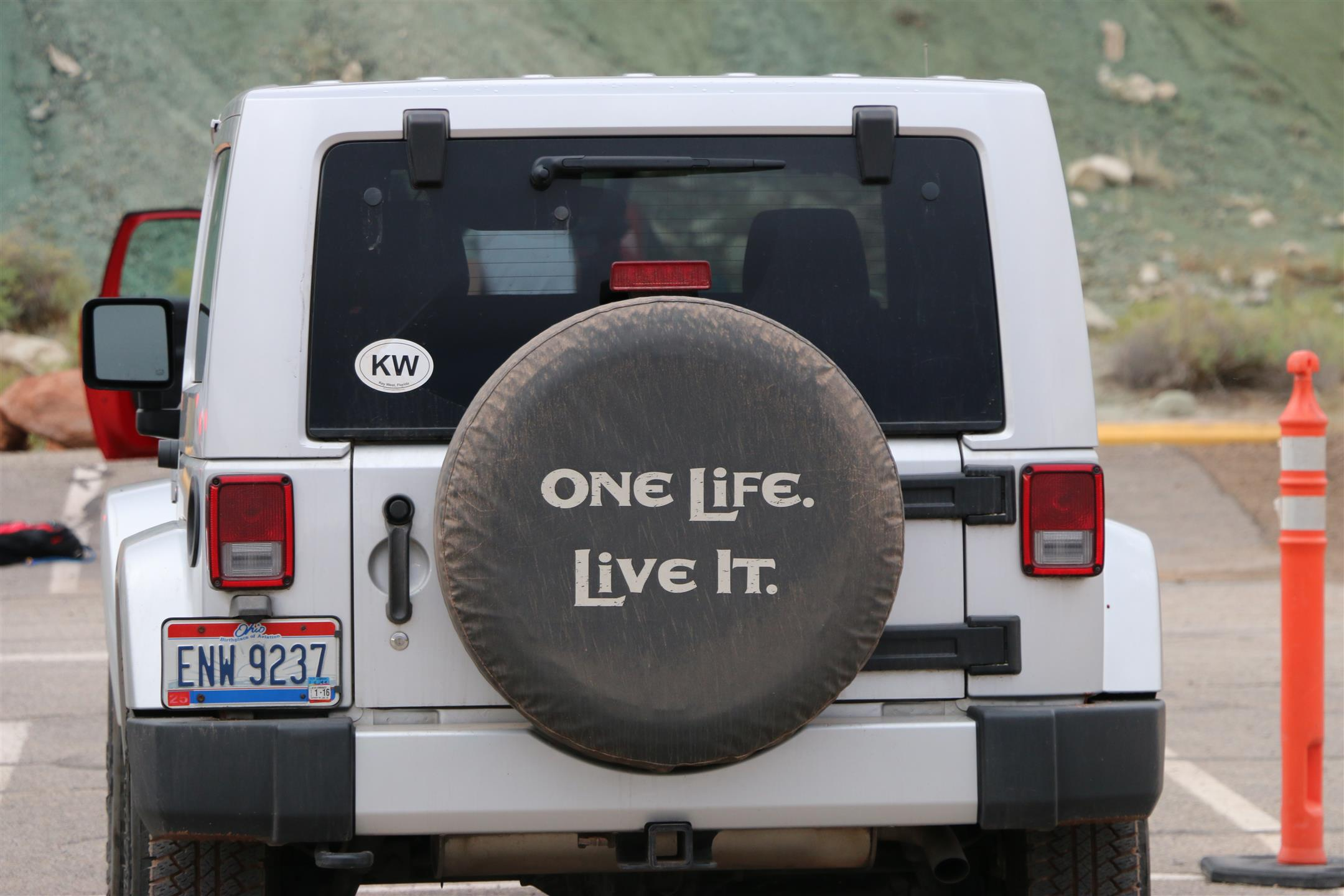 One life...