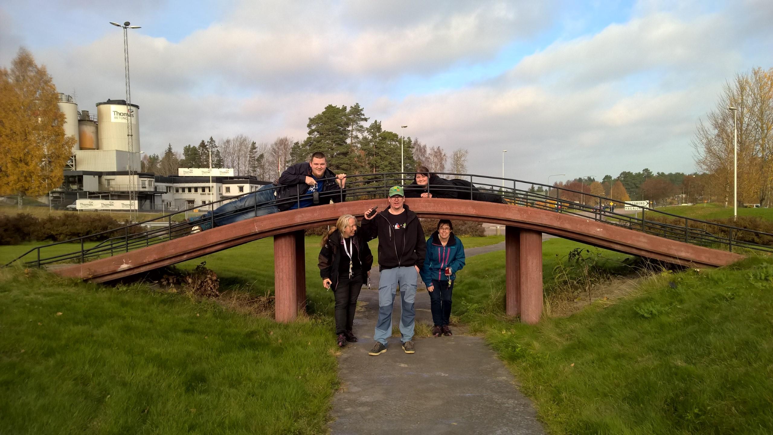 Bridge over nothing