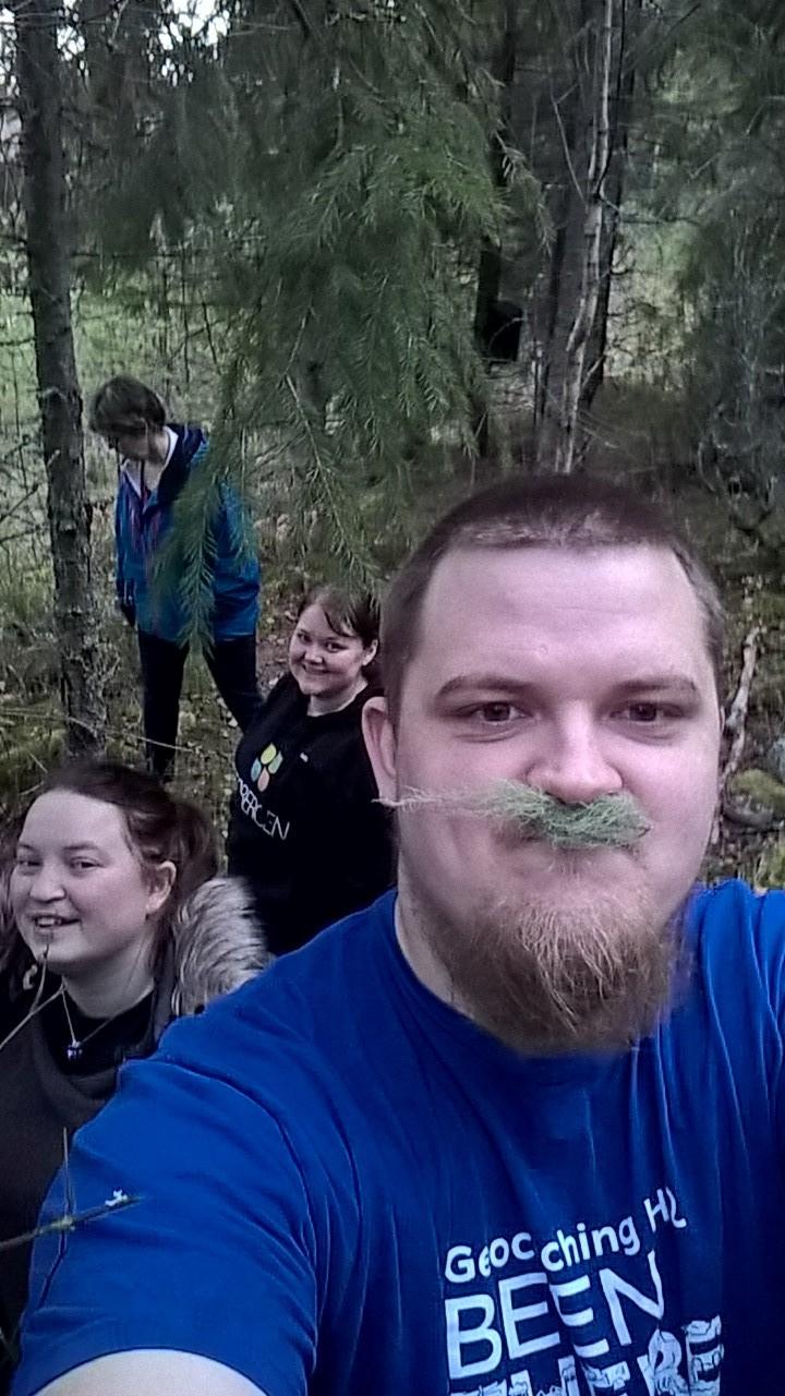 I en skog et sted i Sverige