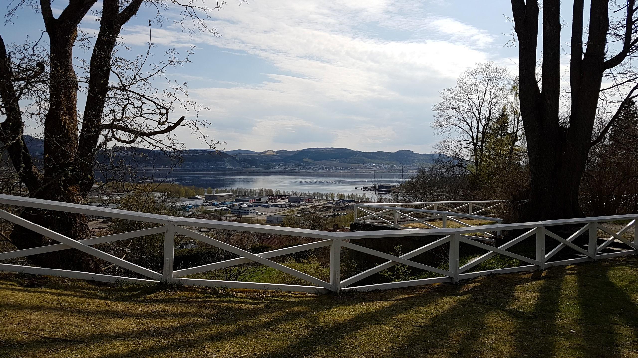 Utsikt fra eventplassen