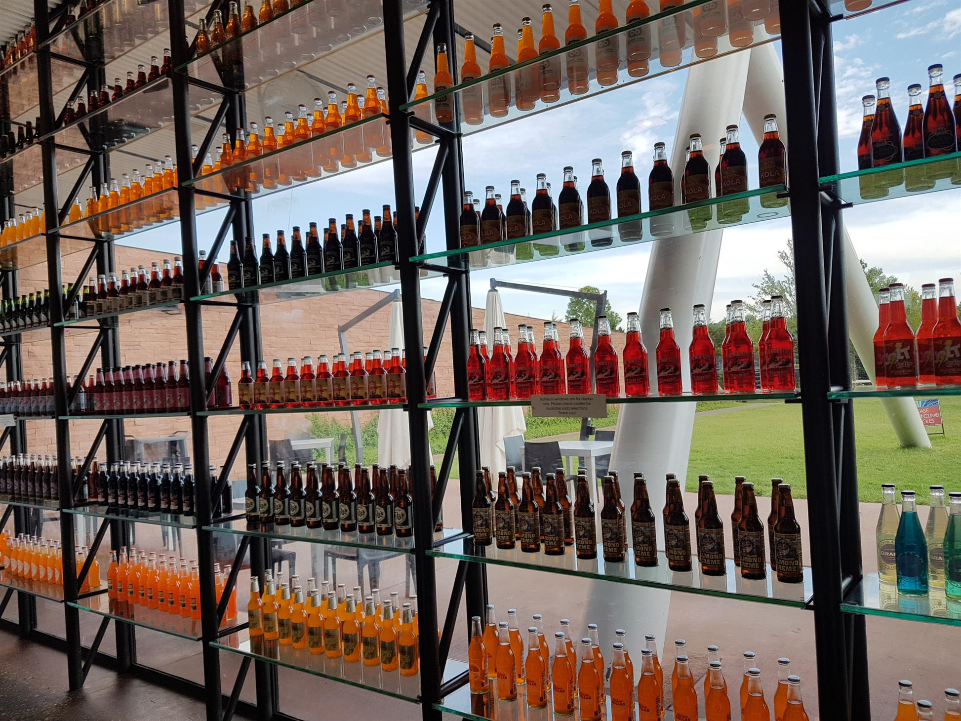 Pops, they have more than 700 different types of bottled soda!