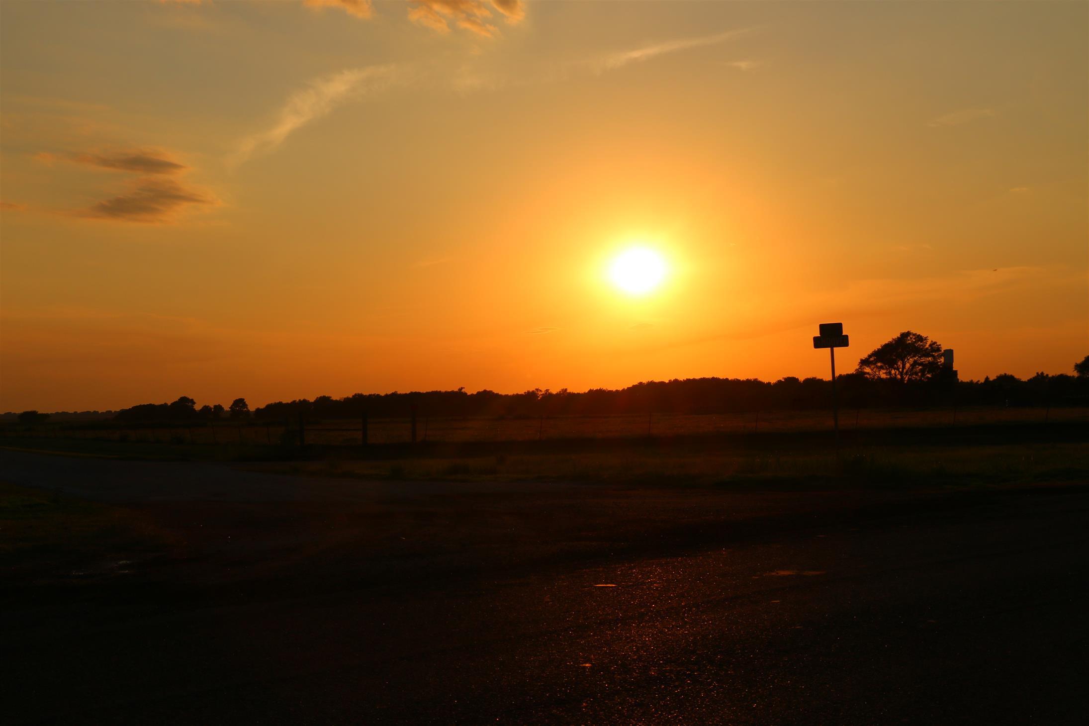 Sun in Kansas