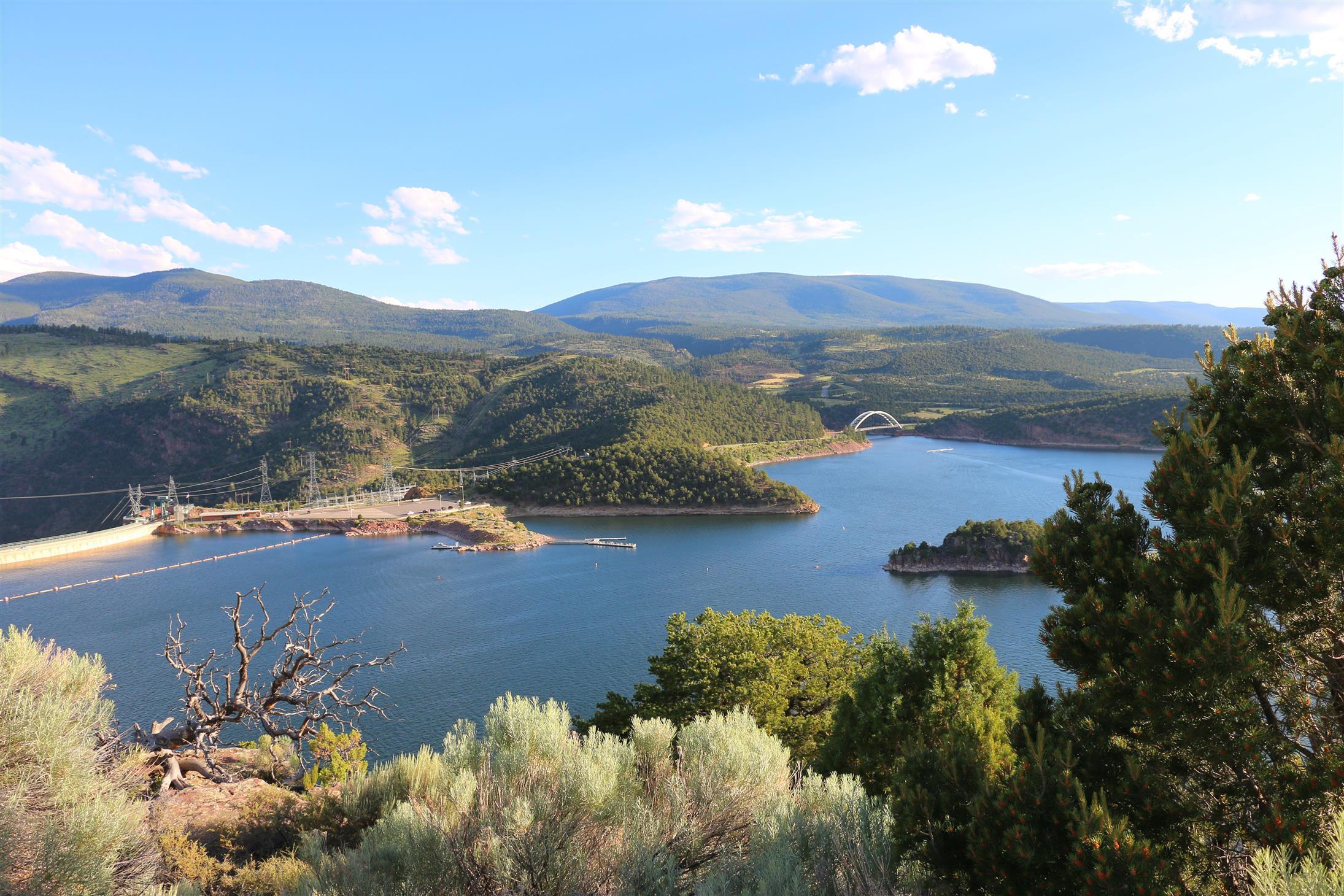 A dam good view