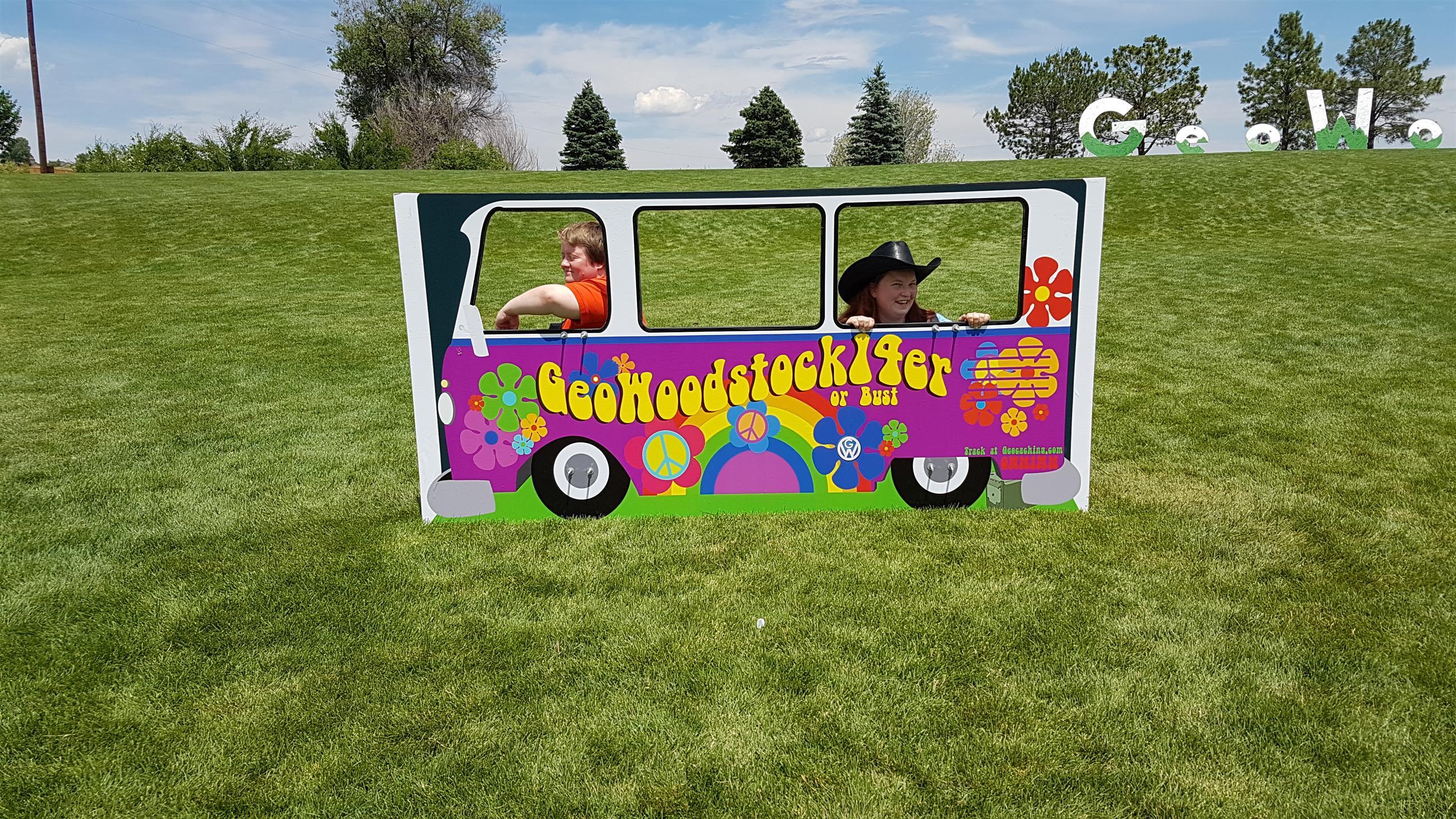 GeoWoodstock bus
