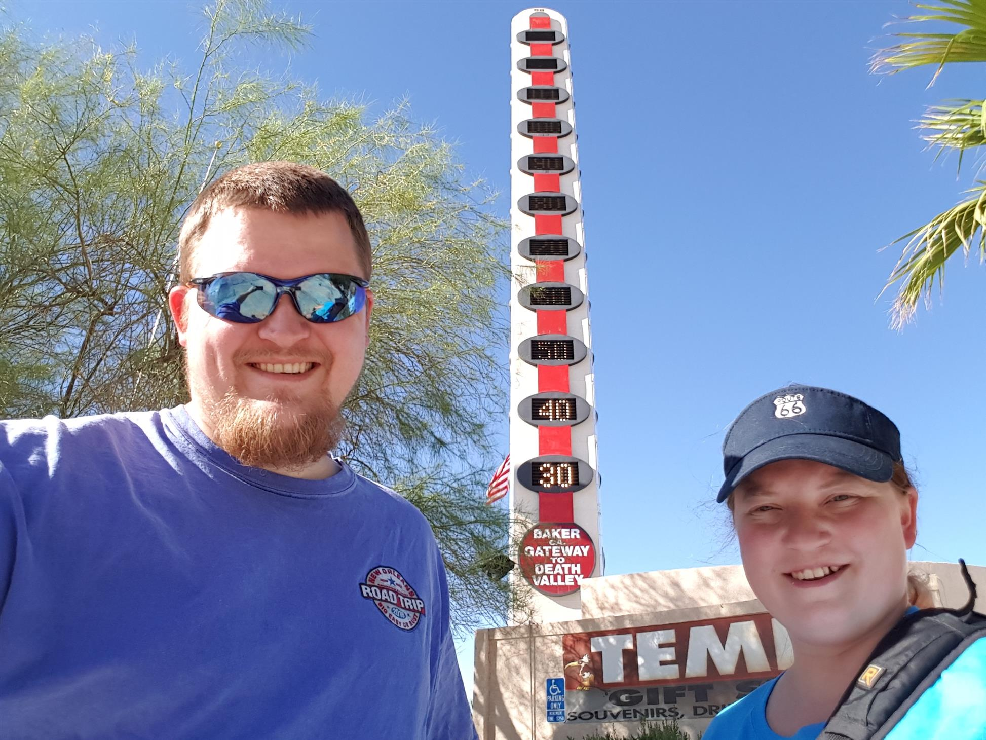 Us and the huge thermometer