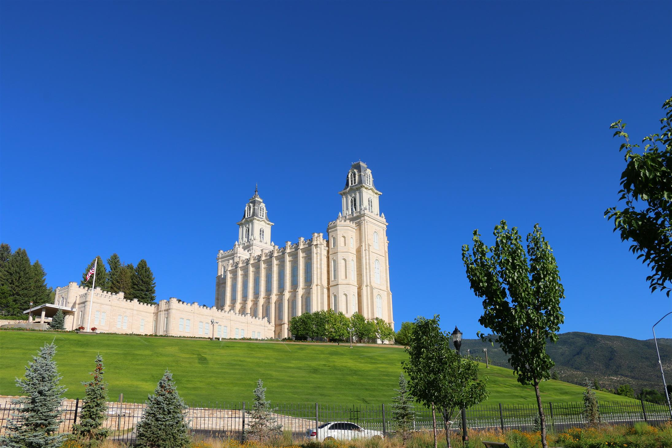 The Manti Utah Temple