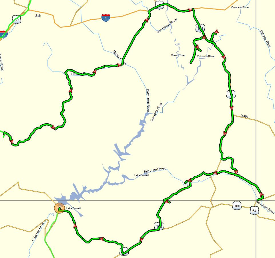 tracklog-the-scenic-route