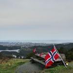 Flagg og utsikt